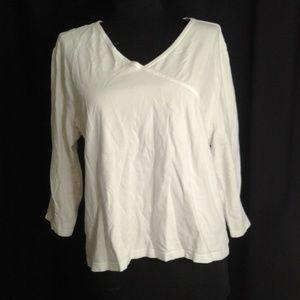5/$25 J Jill XL 3/4 sleeve tee shirt